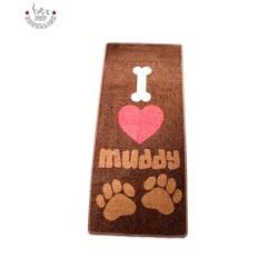 """45x100 cm-es szőnyeg """"I love Muddy"""""""