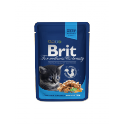 Brit Premium Cat tasakos csirkedarabokkal kölyök cicáknak