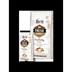 Brit Fresh pulyka és borsó túlsúlyos és idős kutyáknak