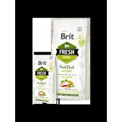 Brit Fresh  kacsahús és köles felnőtt aktiv kutyák számára