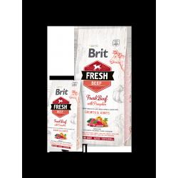 Brit Fresh marhahús és sütőtök nagytestű kölyökkutyák számára