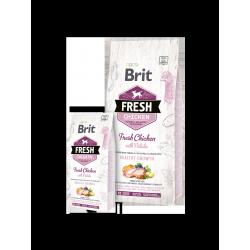 Brit Fresh csirke és burgonya Puppy