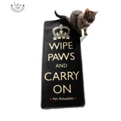 "45x100 cm-es szőnyeg ""Wipe Paws and Carry On"""