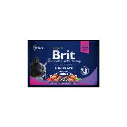 Brit Premium Cat tasakos halas tál 4x100g
