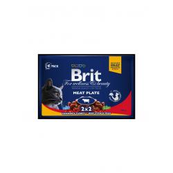 Brit Premium Cat tasakos hústál 4x100g