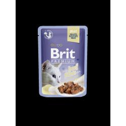 Brit Premium Cat tasakos zselés cicaeledel marhahússal